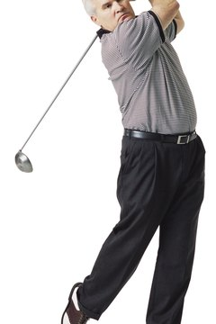 A balanced follow-through is one sign of a swing with the proper tempo.