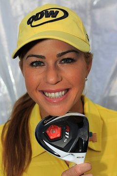 LPGA star Paula Creamer plays a driver with a stiff flex.