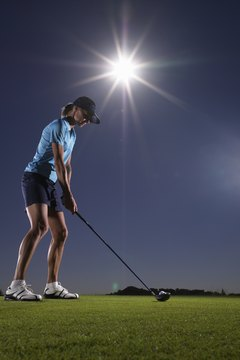 Your position and posture at address can affect how good your swing will be.