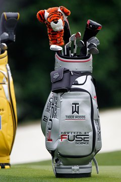 A personalized golf bag, or golf towel, would make a great gift.