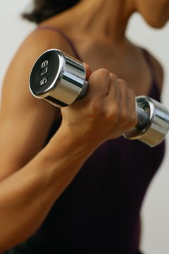 Use free weights, body weight and machines for your arm training.