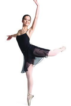 Ballerinas are known for their taut bodies.