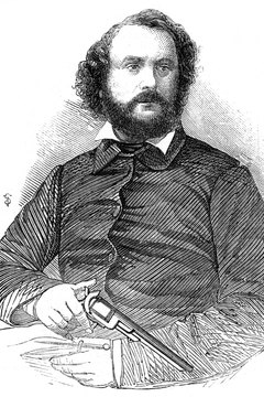 Samuel Colt invented the first revolver when he was just 16 years old.