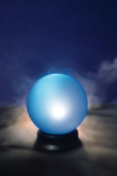 Let your vision diffuse as you gaze into the crystal ball.