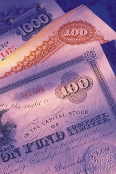 Stocks can be denominated in multiple currencies such as dollars and Euros.