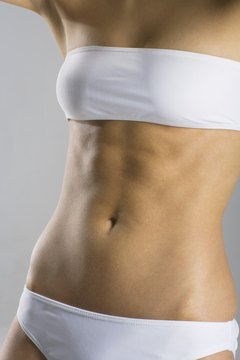 You can tone the lower abs with a few simple exercises.
