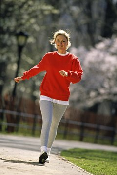 Walking is a gentle, low-impact exercise.