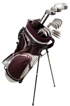 Golf bag organizers help separate woods, irons and wedges.