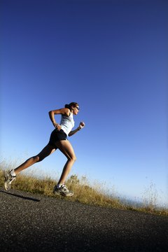 Running works your legs while blasting calories.