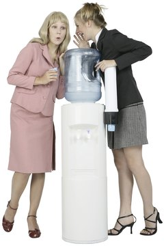 Water cooler gossip is generally not considered to be defamation.