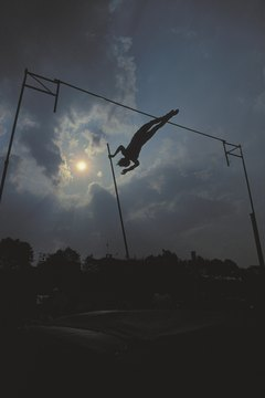 Pole vaulting requires outstanding speed, agility and power.