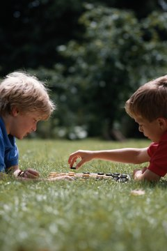 Playtime is an excellent time for students to practice social skills.