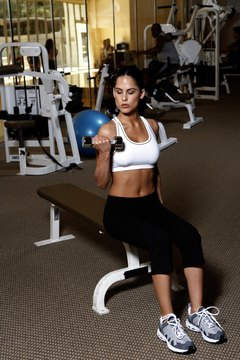 Neglecting your upper-body is female gym crime number one.