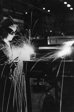 Though they may be well-suited to welding, women make up a small share of the field.
