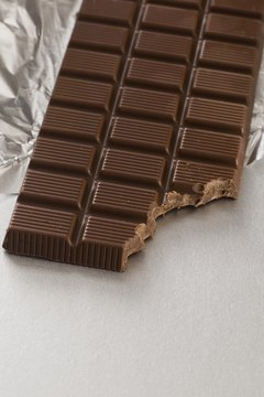 Chocolate is high in carbohydrates.