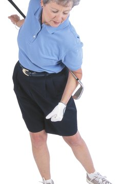 Stretching the hips and shoulders will help your golf swing.