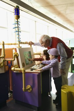 Students of all ages benefit from hands-on learning centers.