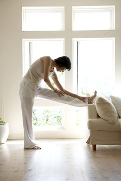 Use your furniture to help you exercise.