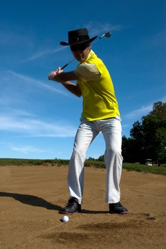 The backswing is an important part of the golf swing.