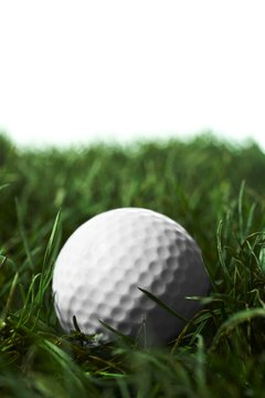 The proper golf ball can assist golfers in rough situations.