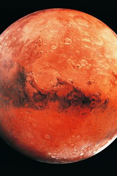 Some scientists believe the atmosphere of Mars was once as thick as Earth's.