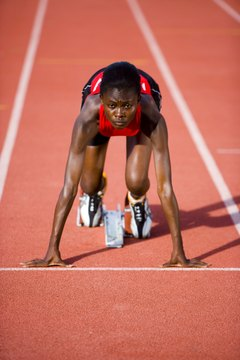 Sprinting faster requires a powerful blend of technique and strength.