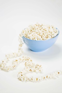 Popcorn is an excellent alternative to potato chips.