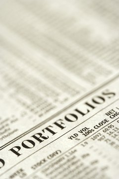 Recent stock and bond prices are printed in the financial pages of newspapers.