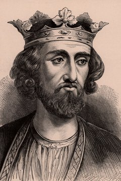 The English King Edward I sent his forces to do battle with William Wallace