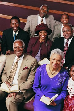 The church is an important institution for multiple generations of African Americans.