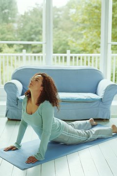 Yoga chest openers help stretch and lengthen your chest muscles.