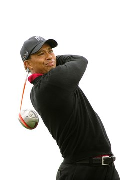 A few of the elements that generate Tiger's distance are club head speed, torque, hip rotation and balance.