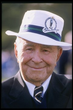 Gene Sarazen won his major championships with a ball that flew shorter than today's golf balls.