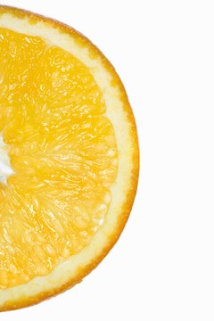 Oranges have the most vitamin C among citrus fruits.