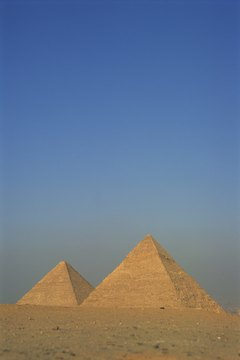 Pyramids were tombs for Egyptian royalty.