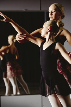 Aspiring choreographers should take dance classes and participate in the arts.