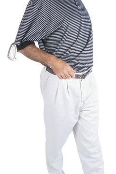 Before teeing off, always set aside at least 10 minutes to loosen up your back to increase range of motion during play.