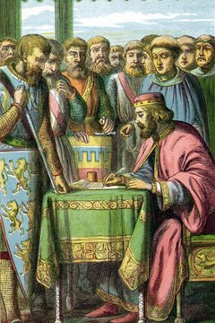 The Magna Carta was one of the first documents supporting the ideas of self-government.