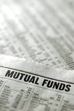 Compare your mutual fund options on a performance chart before investing.