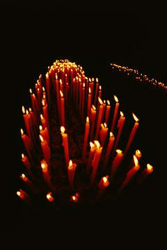 Medieval chandlers supplied candles to cathedrals, parish churches and monasteries.