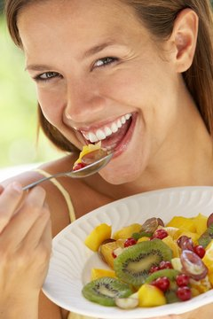 Colorful fruits and other nutritious foods boost wellness during menstruation.