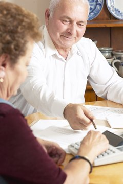 Refinancing helps you stick to a balanced budget during retirement.