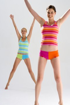You don't need weights to reap the benefits of jumping jacks.