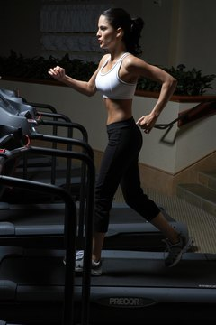 Running on the treadmill is better for your joints than concrete running.