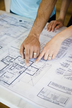 Construction managers must know how to read blueprints.