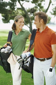 Men's and women's clubs often differ in length, weight and flexibility.