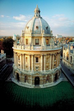 Oxford University, as depicted here, was founded as a medieval university; theology was its main subject matter.