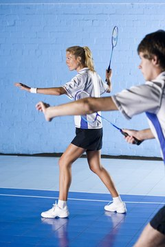 Badminton developed as a club sport played by the British aristocracy.