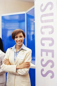 Learn about franchises by attending a trade show.