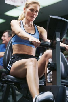 Don't just focus on your lower body with the recumbent bike; incorporate your abdominal muscles.